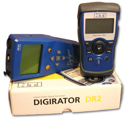 Digirator DR2 y Digilyzer DL1