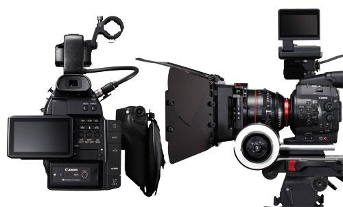 Canon C100 vs C300