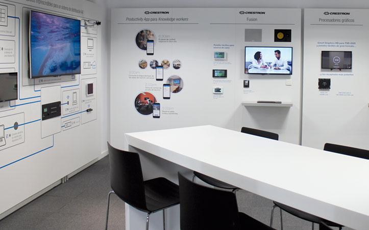 El Experience Centre de Crestron en Madrid