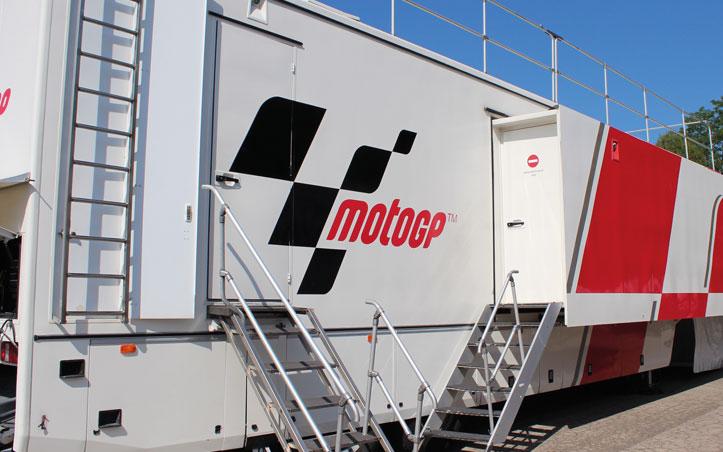 Dorna Sports y Lawo en MotoGP