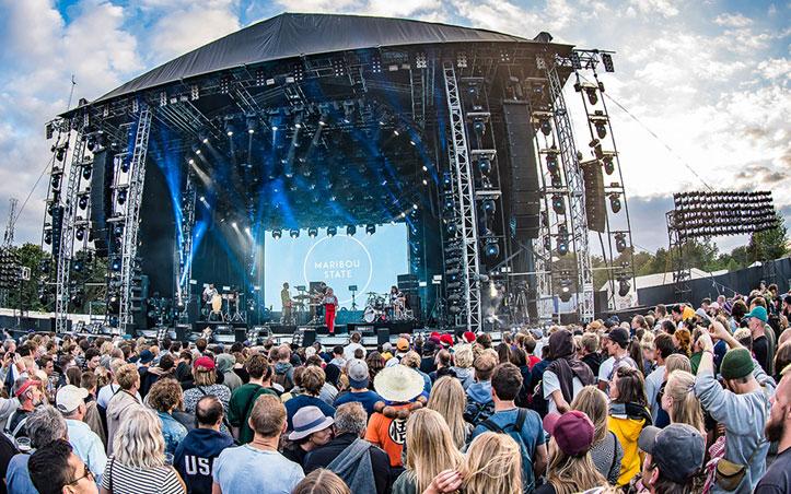 Meyer Sound y Festival Roskilde de Dinamarca