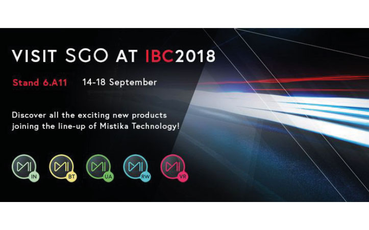 Novedades de SGO en IBC 2018