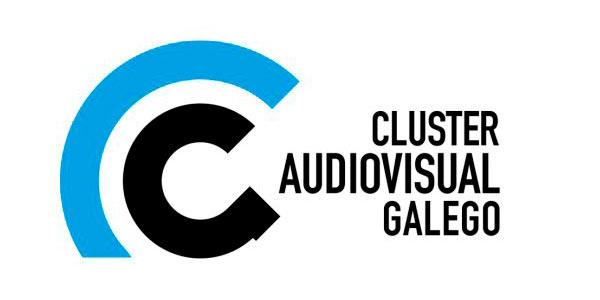 Logotipo del conglomerado de empresas del audiovisual Clúster Audiovisual Galego