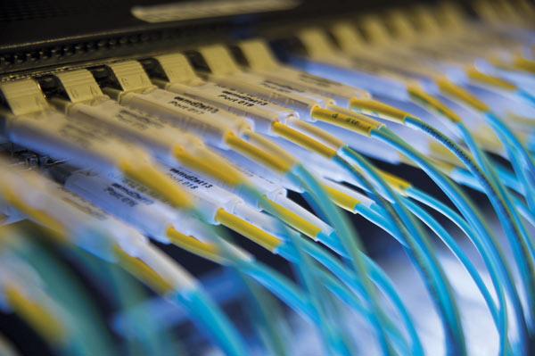 Conjunto de cables que proporcionan conectividad