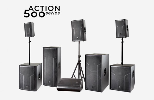 DAS Audio presenta su nueva serie de monitores Action 500 Series