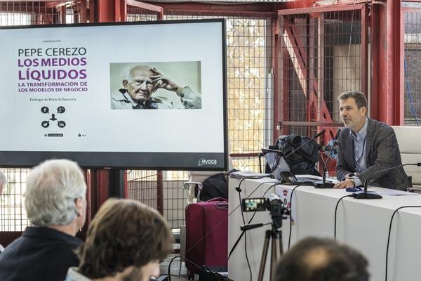 Pepe Cerezo de Evoca Media fue uno de los ponentes presentes en BITAM Show 2018