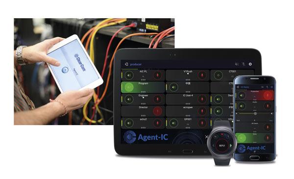 Aplicación Agent IC compatible con el sistema LQ de Clear-Com