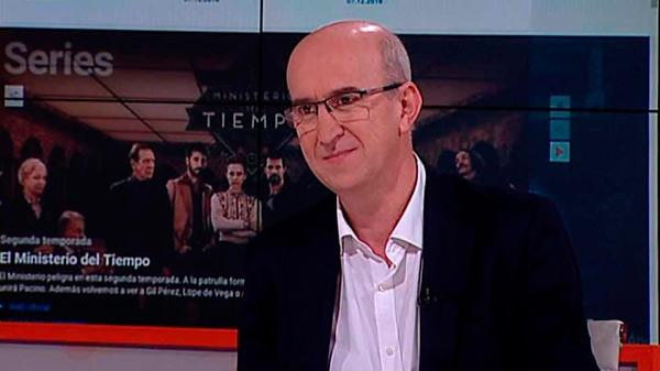 Alejandro Vega Martín, director de RTVE Digital, en el marco de una entrevista
