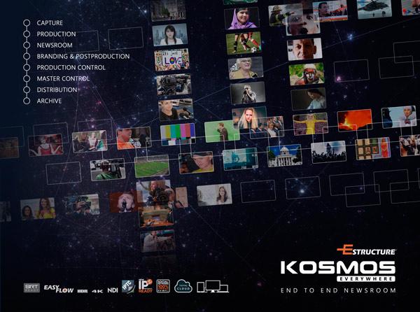 Imagen promocional de Kosmos Everywhere, el último sistema de Estructure