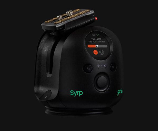 Genie II Pan Tilt, uno de los dispositivos de movimiento automatizado de Syrp