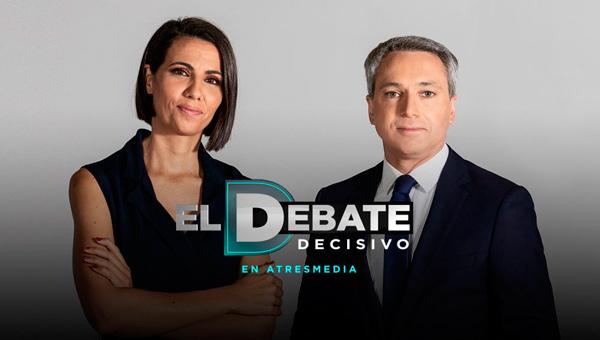 Imagen promocional del Debate Decisivo de Atresmedia