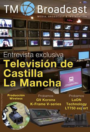 Televisión de Castilla La mancha en TM Broadcast