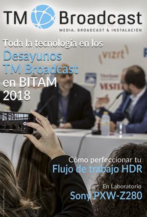 Desayunos TM Broadcast en BITAM Show