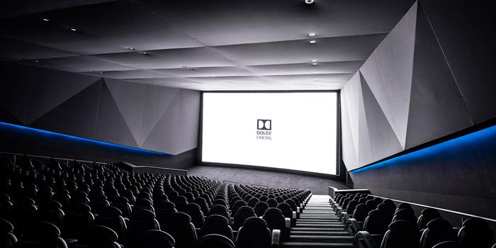 Muestra de una sala de proyección Dolby Cinema