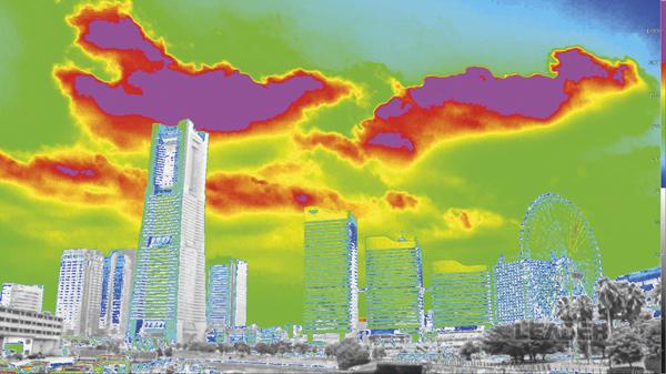Imagen HDR representada en un monitor SDR