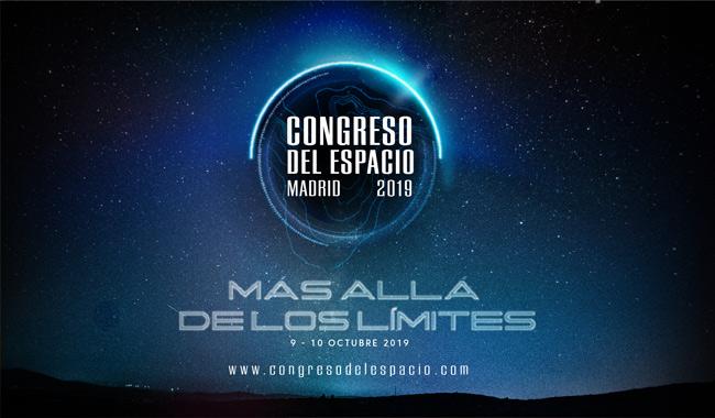 Imagen institucional del Congreso del Espacio 2019