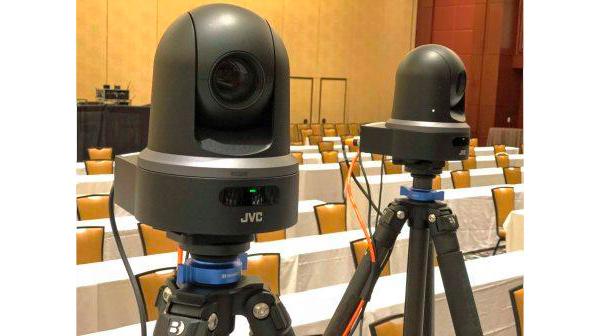 Cámaras PTZ de JVC KY-PZ1000 integradas en eventos por JVC