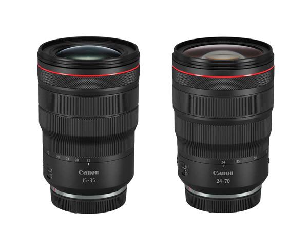 Nuevos objetivos RF de Canon, de 15-35 mm. y 24-70 mm.