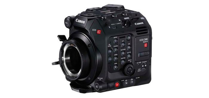Cuerpo de la cámara EOS C500 Mark II