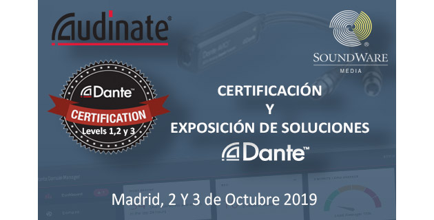 Audinate y Soundware unen fuerzas en Madrid