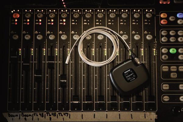 Micrófonos Twinplex de Shure distribuidos por Earpro