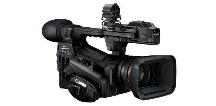 Perspectiva lateral agarre Canon XF705