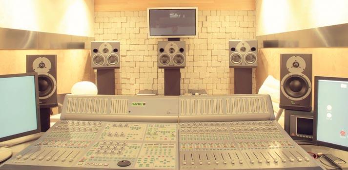 sala de edicion y masterizacion de sonido de serena