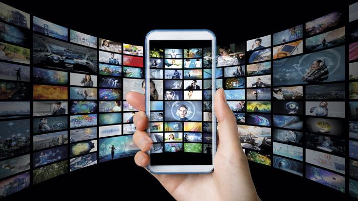 Imagen conceptual que representa el contenido dentro de un móvil