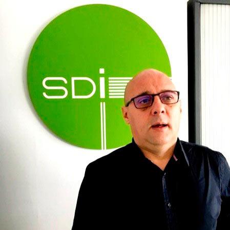 Fotografía con Juan Carlos Cañamares, Director Comercial de SDI