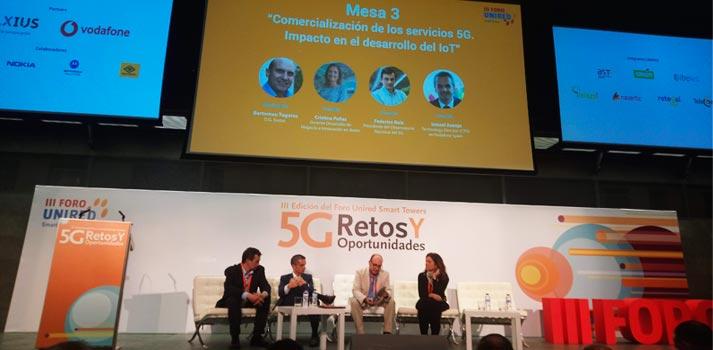 Tercera mesa redonda sobre 5G Retos y Oportunidades en el tercer Foro Unired