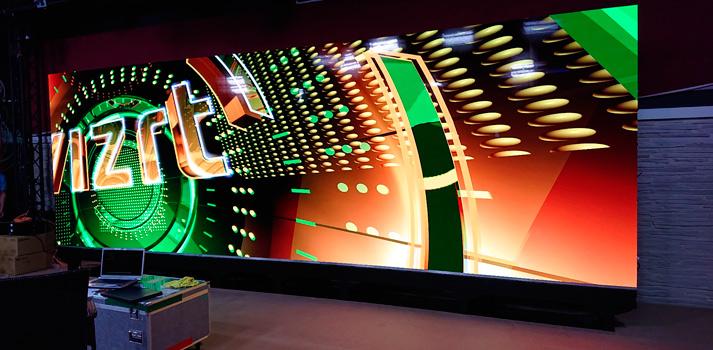 Videowall de Sony con tecnología Crystal LED instalado en FOX Turquía