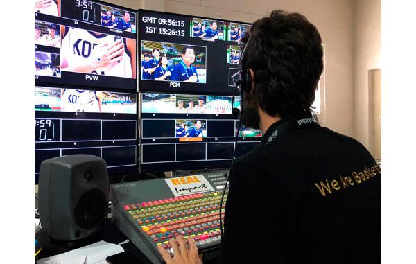 La copa asiática femenina 2019 fue producida por Mediapro para FIBA