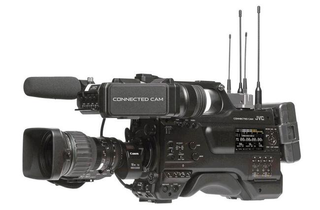 La GY-HC900 pertenece a la familia de cámaras Connected Cam de JVC