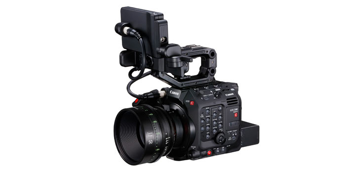 Cámara de Canon EOS C500 Mark II que estará presente en el MicroSalón AEC 2019