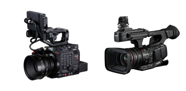Imágenes de las cámaras XF 705 de Canon y la EOS C500 Mark II