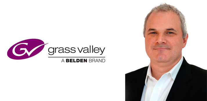 Presidente de Grass Valley, Tim Shoulders