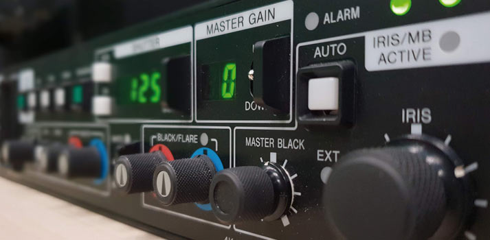 Equipamiento laboratorio Sony HXC-FB80 panel controlador