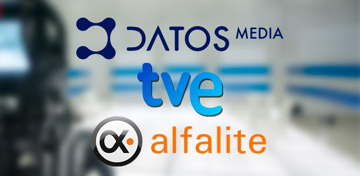 Integración de material de Alfalite por Datos Media en TVE