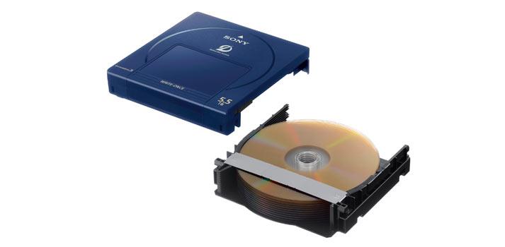 ODC5500R de Sony, unidad Optical Disc Archive de tercera generación