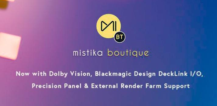 Novedades de la versión 8.10 del software de finishing Mistika Boutique desarrollado por SGO