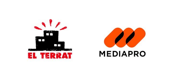 Logotipos de El Terrat y Mediapro