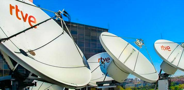 Satélites de RTVE en Torreespana