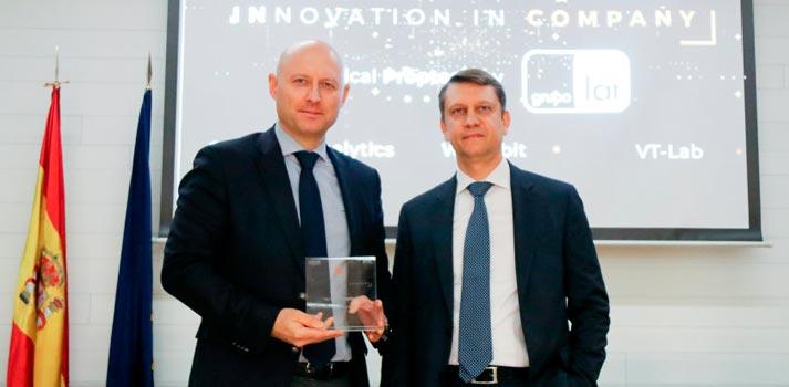 """Uno de los ganadores del trofeo """"Innovation in Company"""", impulsado por CEOE y grupo PGS"""