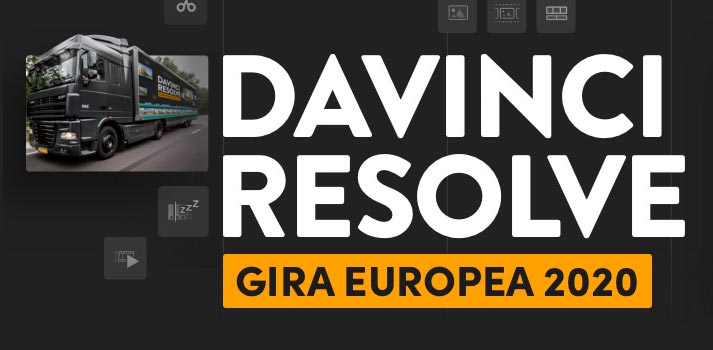 Gira europea 2020 de DaVinci Resolve en Madrid y Barcelona