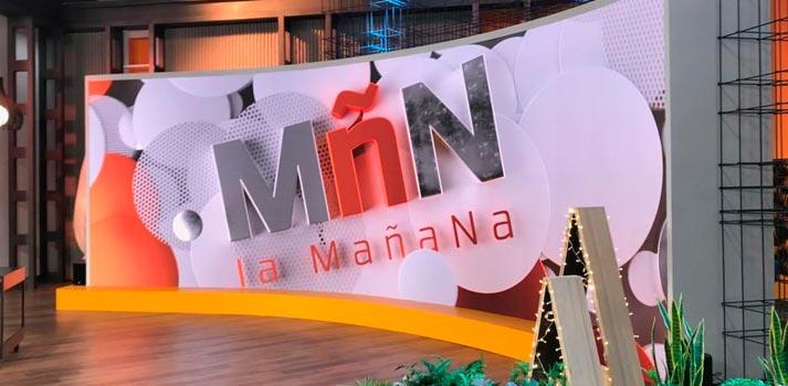 Alfalite instala una nueva pantalla curva LED en el plató de La Mañana