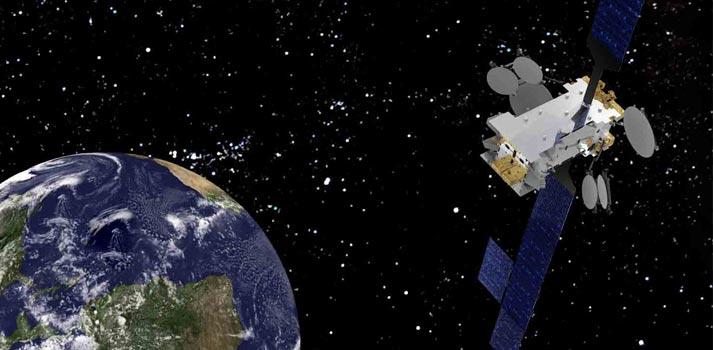 Render con el nuevo satélite Amazonas Nexus de Hispasat