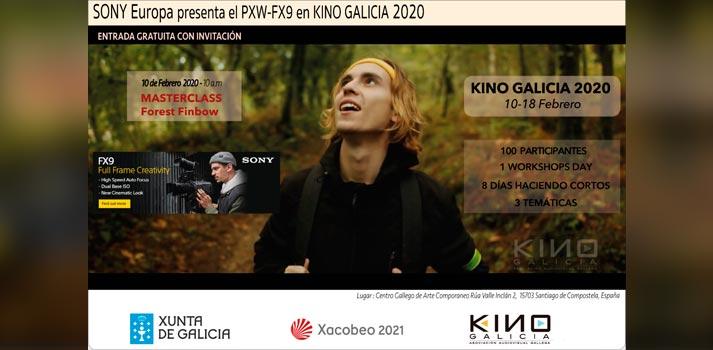 Kino Galicia 2020 contará con el apoyo de Sony
