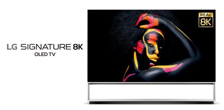 Televisor 8K real de LG