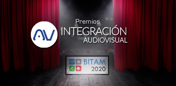 Los primeros premios AV Integración serán entregados en BITAM Show 2020