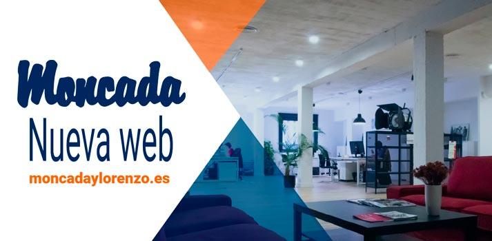 Imagen corporativa Moncada estreno nueva web